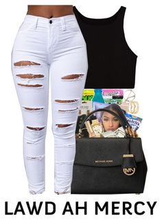 """""""If Young Metro Don't Trust Ya """" by breeyahmonique ❤ liked on Polyvore featuring LULUS, Casetify, Victoria's Secret, Timberland, Michael Kors, Tom Ford and MICHAEL Michael Kors"""