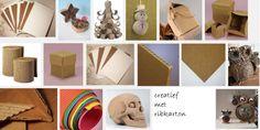 Compositie en creatief met ribkarton