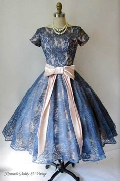 1950's Lace Dress by lexialex5