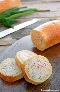 フランス流おしゃれな「スタッフドバゲット」のアレンジレシピまとめ ... This crab-stuffed baguette recipe is a keeper for sure! Hollow out the interior