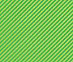 Green Stripes fabric by sugarxvice on Spoonflower - custom fabric
