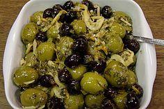 Eingelegte Oliven in Zitrus - Honig - Marinade (Rezept mit Bild) | Chefkoch.de