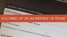 How to follow up after the interview or on a resume - Brooklyn Resume Studio - Career coaching, resume writing, linkedin profile development, social media & job search strategy tools Social Media Marketing Jobs, Dental Jobs, Interview Help, Career Development, Professional Development, Career Consultant, Resume Writer, Job Career, Resume Tips