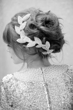vintage wedding hair love