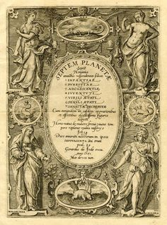 marinni | Семь планет-The seven planets. Гравюры разных художников. 16 век