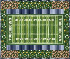 quilt baseball panel | Touchdown Quilt Pattern, football field sports life 3 fabric, SRK ...