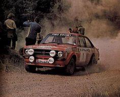 Ford Escort mark II. RAC rally 1976, Roger Clark / Stuart Pegg. Winners