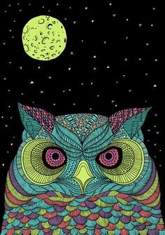 I love owls...always have since I was a little girl & was fascinated by my grandma's collection of them :)