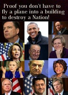 Truth. Outright traitors to We the People.