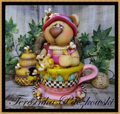 *COLD PORCELAIN ~ Teresinha Paczkowski: biscuit country