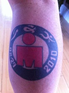 Another Ironman tattoo