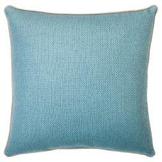 "Threshold™ Basketweave Toss Pillow - 18x18"" - Blue"