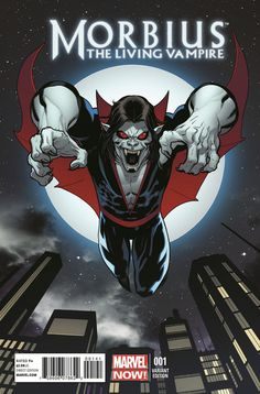 variant cover to Morbius, The Living Vampire #1
