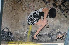 The Banksy from Berlin?  XOOOOX's stencil graffiti    The Heritage Of Berlin Street Art And Graffiti Scene | Smashing Magazine