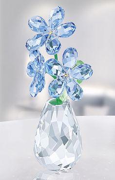 Swarovski Flower Dreams Forget Me Not