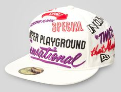 UPPER PLAYGROUND x NEW ERA「Twice Rich」59Fifty Fitted Baseball Cap