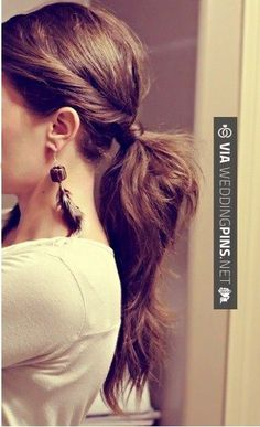 Yes - Wedding Guest Hair - Ponytail