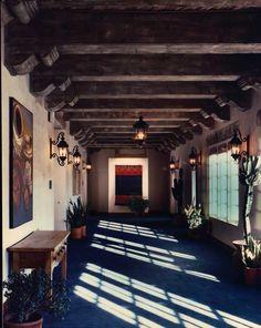Santa Fe Hilton  Santa Fe, New Mexico -restored by Rodger Burson.
