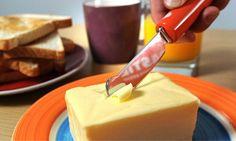 Faca que derrete a manteiga da Warburtons