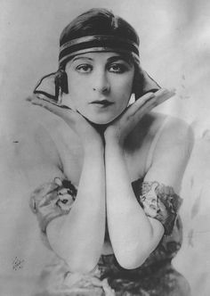 "Ziegfeld Girl ~ Fanny Brice ~ (1891 - 1951). She also performed in: *The Ziegfeld ""Frolic Ball"" of 1918, *The Ziegfeld ""Midnight Frolic"" of 1919, *The Ziegfeld ""Nine O'Clock Revue"" (Ziegfeld Girls of 1920, March 8), *The Ziegfeld ""Nine O'Clock Frolic"" of 1920 (May 31 edition). http://en.wikipedia.org/wiki/Fanny_Brice"