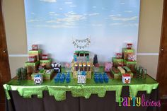 Minecraft Birthday Party Birthday Party Ideas | Photo 2 of 31