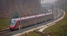 AGV during its dynamic tests on the very high speed line in November 2011. Image courtesy of Alstom Transport. - Image - Railway Technology