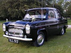 #Ford Prefect - the little 3-speed marvel :-) ......... fred67.com/library ........ Ford Motor Company, Motor Scooters, Motor Car, Vintage Cars, Antique Cars, Ford Anglia, Veteran Car, Classy Cars, Old Fords
