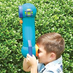 Observe nature from your sneaky secret hideout with GeoSafari Jr Sneak & Peek Periscope! Peek in 4 directions undetected. Peek over a rock or around a tree! GeoSafari Jr Sneak & Peek Periscope from Educational Insights. Toy Catalogs, Science Kits, More Fun, Kids Toys, Jr, Education, Birds, Nature, People