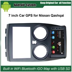 Upgraded Original Car Radio Player Suit to Nissan Qashqai Car Video Player Built in WiFi GPS Navigation Bluetooth