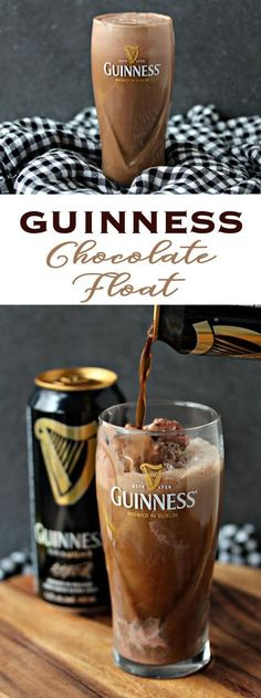 Beauty of the Guinness Chocolate Float The Decadent Beauty of the Guinness Chocolate Float: Sugar buzz meets beer buzz.The Decadent Beauty of the Guinness Chocolate Float: Sugar buzz meets beer buzz. Bar Drinks, Cocktail Drinks, Yummy Drinks, Alcoholic Drinks, Beverages, Guinness Recipes, Beer Recipes, Cooking Recipes, Craft Bier
