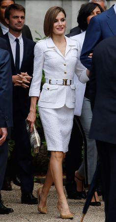 Queen Letizia 3 Jun 2015 - Paris City Hall, France