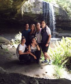 #squadgoals #fitfam #familia #waterfall #happy #grateful #lorne #smile #fitness #exercise #hike #publicholiday #melbournecup #greatoceanroad #sunshine  #happy #nvc #cave #water #nature #beautifulday  by amy.marieee http://ift.tt/1IIGiLS