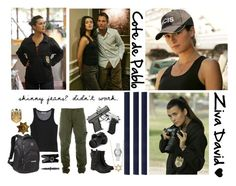 NCIS - Special Agent Ziva David :) by natuubecerra on Polyvore featuring Jil Sander, STONE ISLAND, Banana Republic, rag & bone, Gucci, Jennifer Meyer Jewelry, OGIO, Pablo, Co|te and Eos