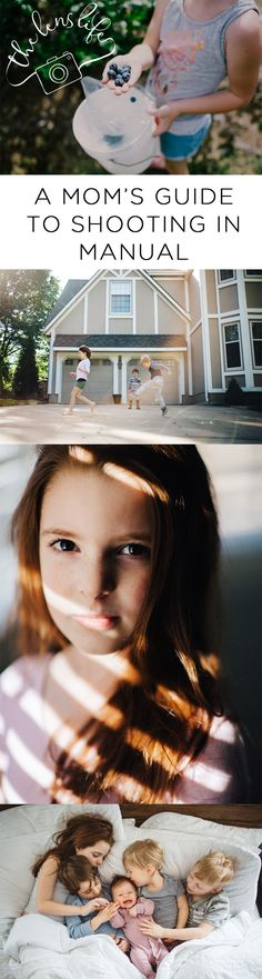 Don't miss those special moments with your kids, learn how to capture them beautifully by shooting in manual.