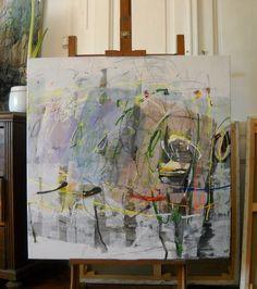 Maria Balea, Mixed - Media / Canvas 100x100cm, 2013
