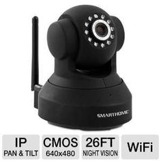 Alternate view 1 for Wireless IP Camera - PTZ Full Motion + 2-way Audio