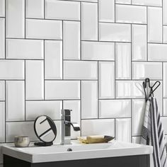 Alternatives to Bullnose Tile Edge Brick Tiles Bathroom, Floor Tile Grout, Cleaning Tile Floors, Kitchen Wall Tiles, Bathroom Tile Designs, Cement Tiles, Kitchen Backsplash, Mosaic Tiles, Toilet Tiles Design