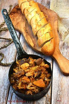 R'n'G Kitchen: Bigos z sarniną i prawdziwkami