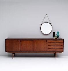 Long sideboard 'Paola' designed Oswald Vermaercke for V-Form in 1959