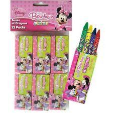 Minnie Mouse Bow-tique Mini Crayon Boxes | 12 ct