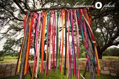 Cute and colorful ribbons. So Mexican reminds me of the ribbons they use at the rodeos.