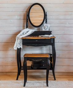 ST9121N Макияжный столик с  овальным зеркалом