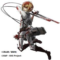 Official art, Armin.