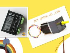 4-Lead NEMA 23 reduction gearbox  Stepper Motor , Gear ratio 15:1 with driver DM542