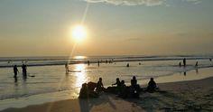 Sunset, Kuta Beach, Bali, Indonesia. Photo: © J.C. Pozo