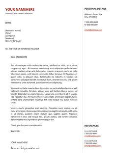 Esquilino Free Resume Template Microsoft Word  Resume  Cv