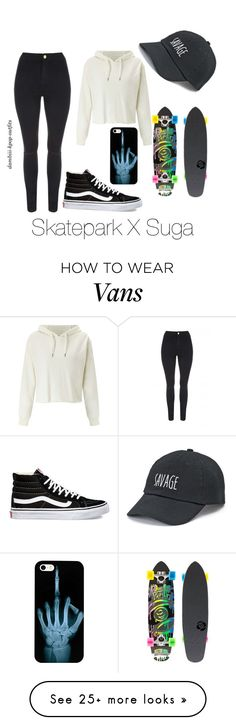 """""""Skatepark X Suga"""" by dambiii on Polyvore featuring Miss Selfridge, Jane Norman, Vans, SO, Sector 9, bts and Suga"""