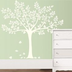 Koala Baby Silhouette Tree Wall Art Kit