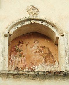 lunetta votiva, province of Isernia , Molise region Italy