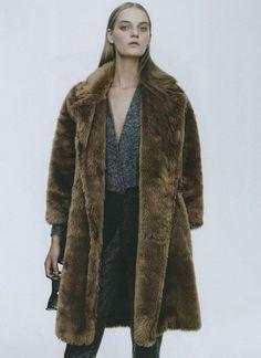 teddy bear coat #style #fashion #editorial